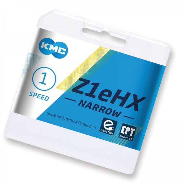 "KMC Kette Z1eHX Narrow EPT 1/2 x 3/32"" 128 Glieder 7,8mm E-Bike AntiRost"